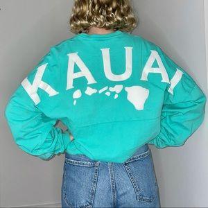 Kauai Hawaii Spirit Jersey - Turquoise